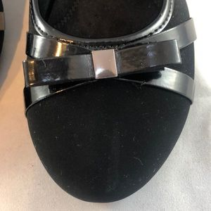 CL by Laundry Shoes - CL by Laundry Women's Wedge Slip-on Black Shoes 8W